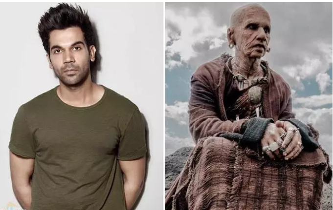 "Rajkummar Rao's Transformation for ""Raabta"""